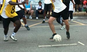 voetbal straat